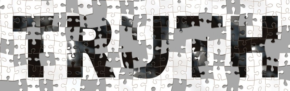 """an incomplete puzzle with the word """"Truth"""""""